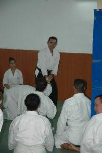César Febles aikido en Tenerife