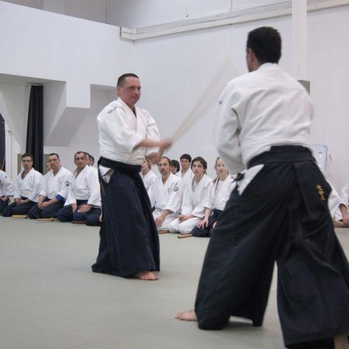Seminario de Aikido en Moscú