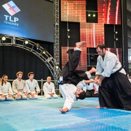 Exhibiciones de Aikido en la TLP-Tenerife 2016