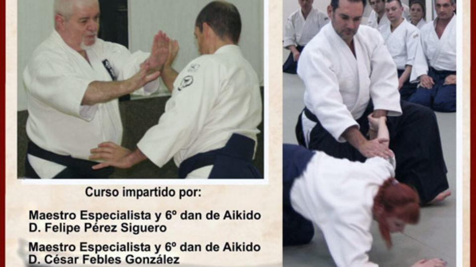 Curso preparatorio para exámenes cinturón negro de 1º a 5º Dan de Aikido
