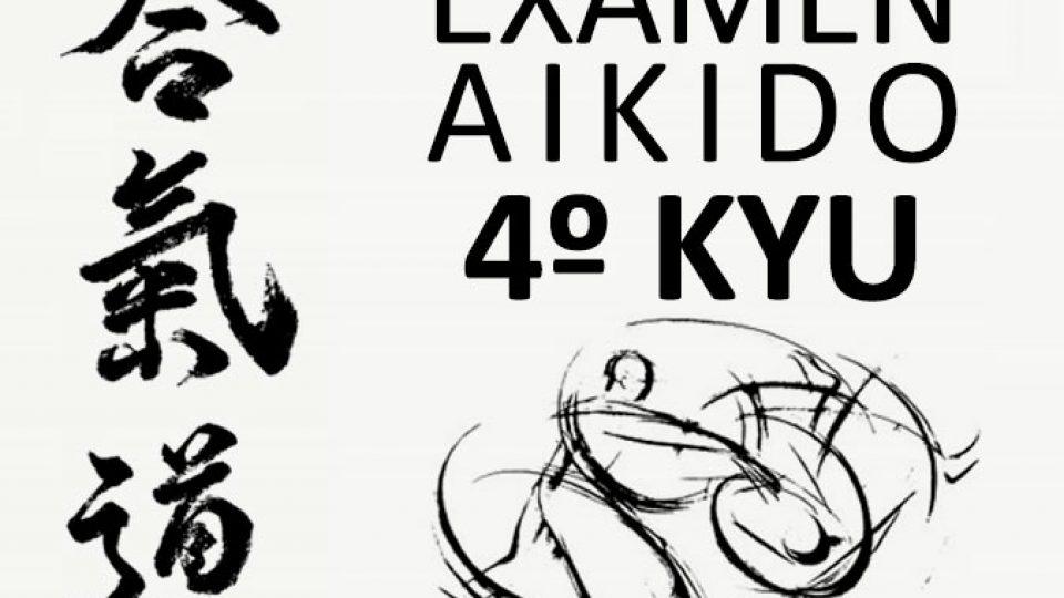 exámen 4º Kyu Aikido