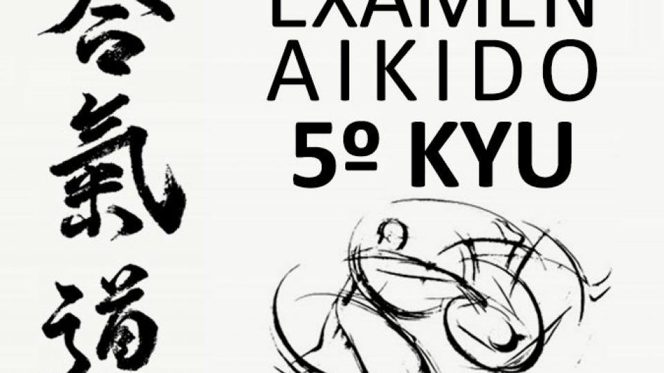 exámen 5º Kyu Aikido