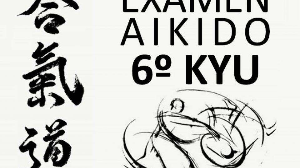 exámen 6º Kyu Aikido