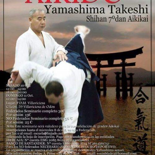 Seminario internacional de Aikido de Yamashima Shihan – Madrid 2015