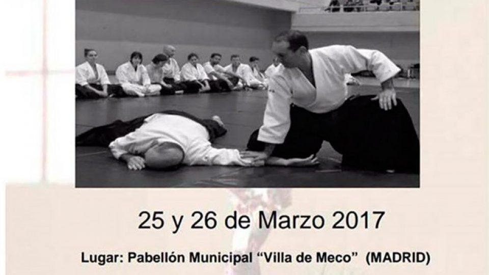 Curso de aikido en Madrid a cargo de César Febles 6º Dan Aikikai – 25 y 26 de marzo 2017