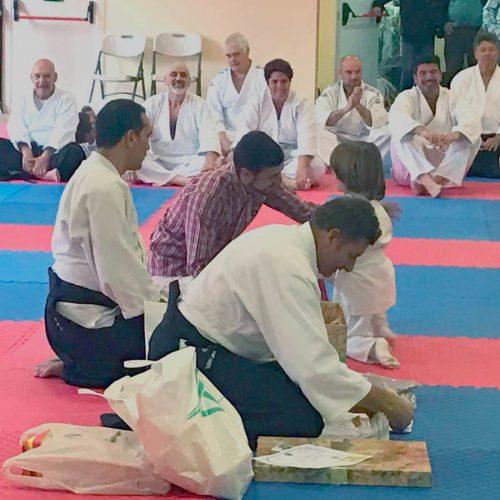 Clase especial de Aikido en Madrid – 2017